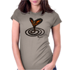 Buuu Moonlight Snake Womens Fitted T-Shirt