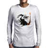 Buuuu Moonlight Monster Dragon Mens Long Sleeve T-Shirt