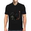 Buuuu Moonlight Monster Dragon Mens Polo