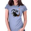 Buuuu Moonlight Monster Dragon Womens Fitted T-Shirt