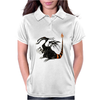 Buuuu Moonlight Monster Dragon Womens Polo