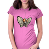 Buuuu Moonlight Monster Polilla Womens Fitted T-Shirt