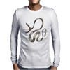 Buuuu Moonlight snake Mens Long Sleeve T-Shirt