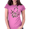 Buuuu Moonlight snake Womens Fitted T-Shirt