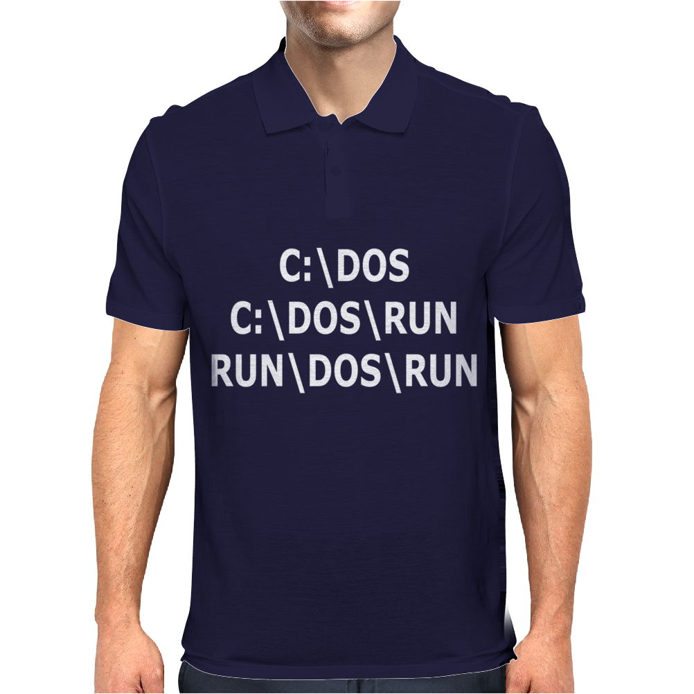 C Dos Run Mens Polo