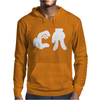 CA cartoon hands Mens Hoodie
