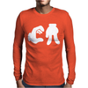 CA cartoon hands Mens Long Sleeve T-Shirt