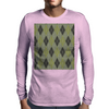 Cactus Garden Argyle 1 Tiled Mens Long Sleeve T-Shirt