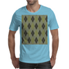 Cactus Garden Argyle 1 Tiled Mens T-Shirt
