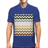 Cactus Garden Chevron 1 Mens Polo