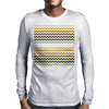 Cactus Garden Chevron 1 Tiled Mens Long Sleeve T-Shirt