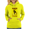 Cactus Jack Mick Foley Yellow Poster Womens Hoodie