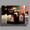 Cafe Wha, Greenwich Village, NYC Poster Print (Landscape)