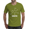 Caffeine Addicted funny Mens T-Shirt