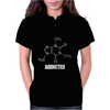 Caffeine Addicted funny Womens Polo