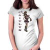 Caitlyn (league of legends) Named Womens Fitted T-Shirt