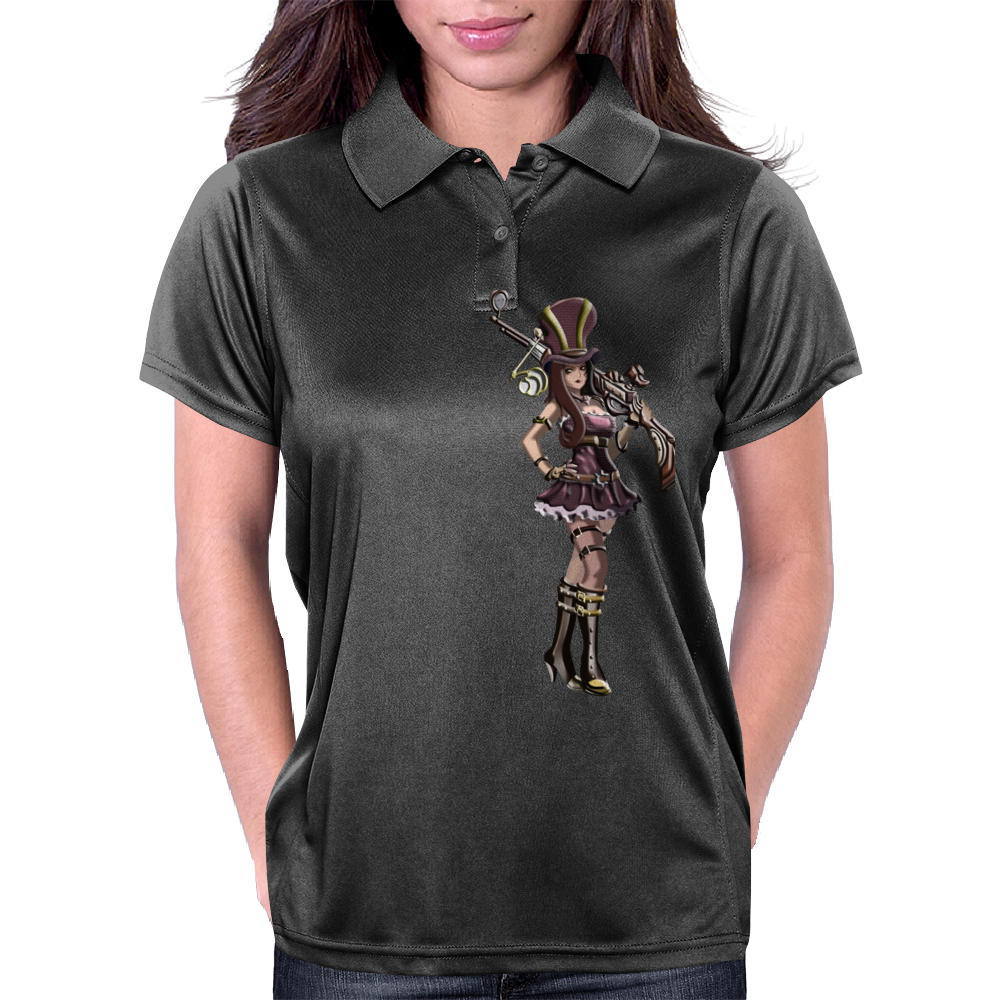 Caitlyn (league of legends) Womens Polo