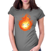Calcifer Womens Fitted T-Shirt
