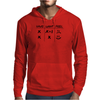 Calculating Happiness Mens Hoodie