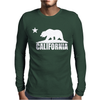 California BEAR Mens Long Sleeve T-Shirt
