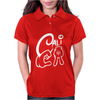 California Love Cali Finger Sign Womens Polo