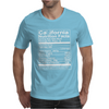 California Nutritional Facts Mens T-Shirt