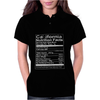 California Nutritional Facts Womens Polo