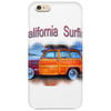 California Surfing Classic Woody Phone Case