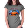 California Surfing Classic Woody Womens Fitted T-Shirt