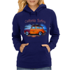 California Surfing Classic Woody Womens Hoodie