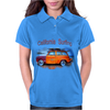 California Surfing Classic Woody Womens Polo