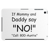 CALL 800-AUNTIE Tablet (horizontal)