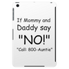 CALL 800-AUNTIE Tablet (vertical)