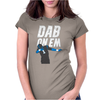 Cam Newton Dab On Em Womens Fitted T-Shirt