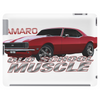 Camaro SS 1967 1968 1969 Old School Muscle Tablet (horizontal)