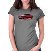 Camaro SS 1967 1968 1969 Old School Muscle Womens Fitted T-Shirt