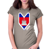 Cambodia Cambodian Flag Womens Fitted T-Shirt