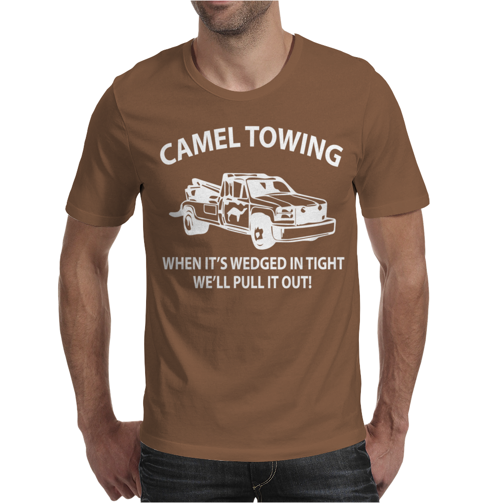 Camel Towing. Mens T-Shirt