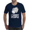 Camera I Shoot People Mens T-Shirt