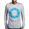 Camera Shutter Mens Long Sleeve T-Shirt