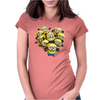 CAMISETA 260 MINIONS DESPICABLE ME GRU PELICULAS MINION GRU Womens Fitted T-Shirt