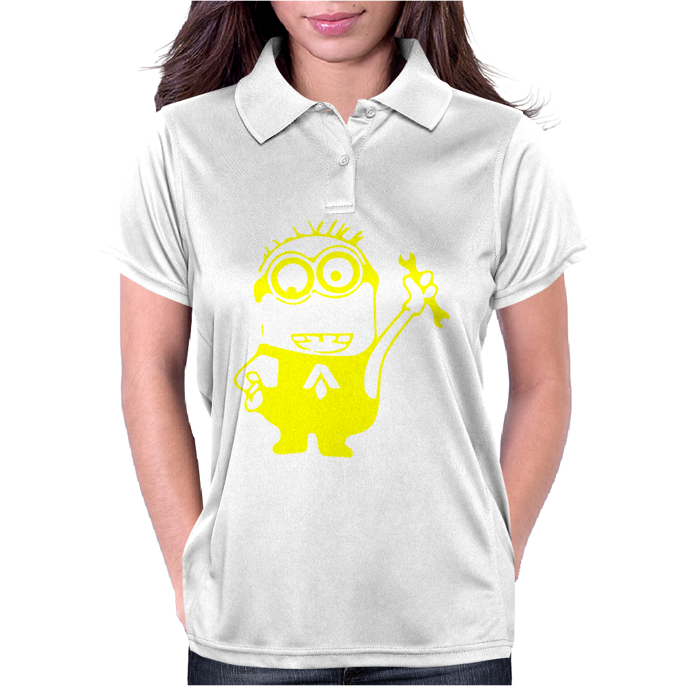 Camiseta Minion Mecanic Womens Polo