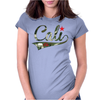 Camo Cali Womens Fitted T-Shirt