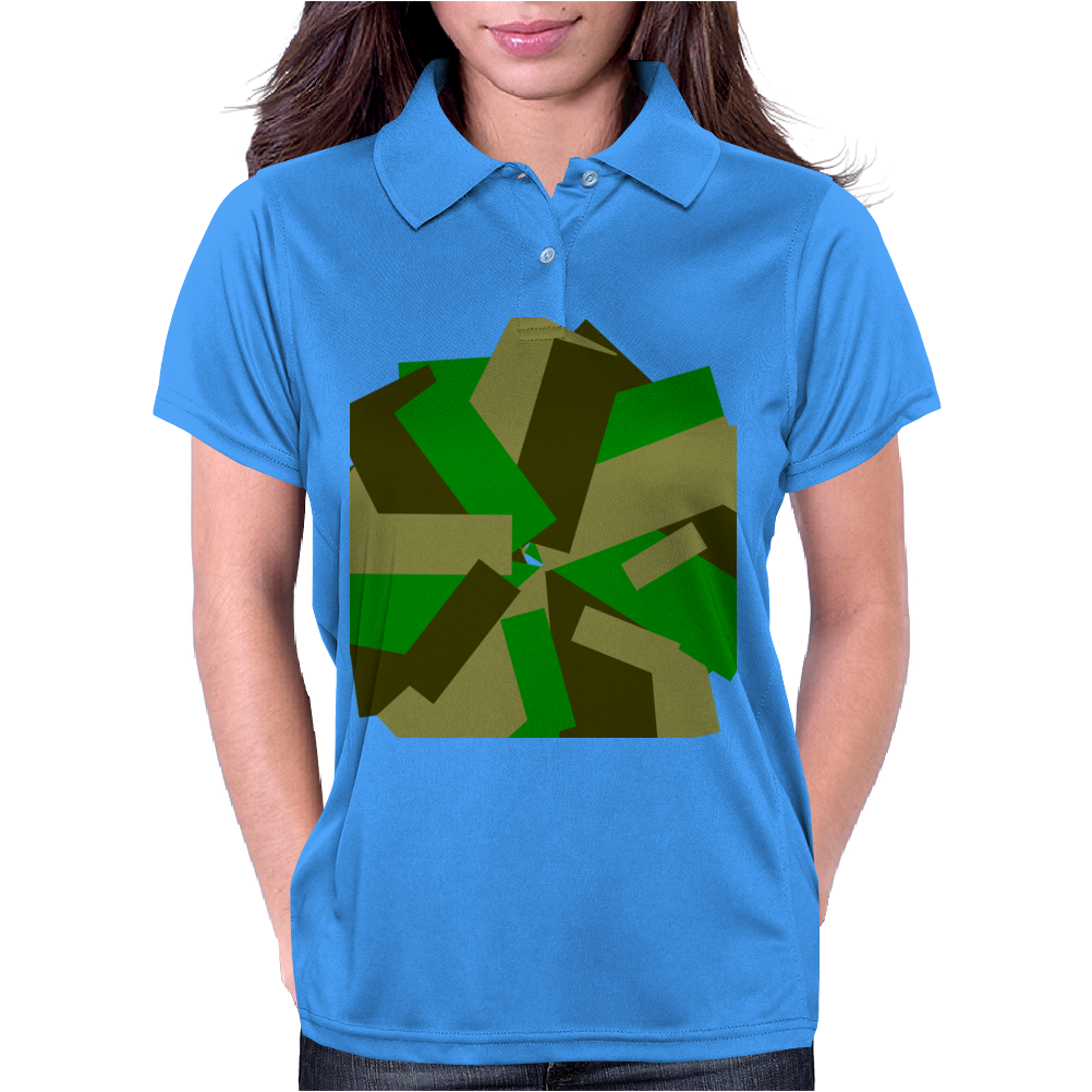Camougerized Womens Polo