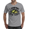 Camping is in-tents. Mens T-Shirt