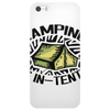Camping is in-tents. Phone Case