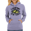 Camping is in-tents. Womens Hoodie