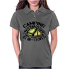 Camping is in-tents. Womens Polo