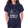 Camping Is In Tents Womens Polo