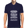 Camping Rules Mens Polo